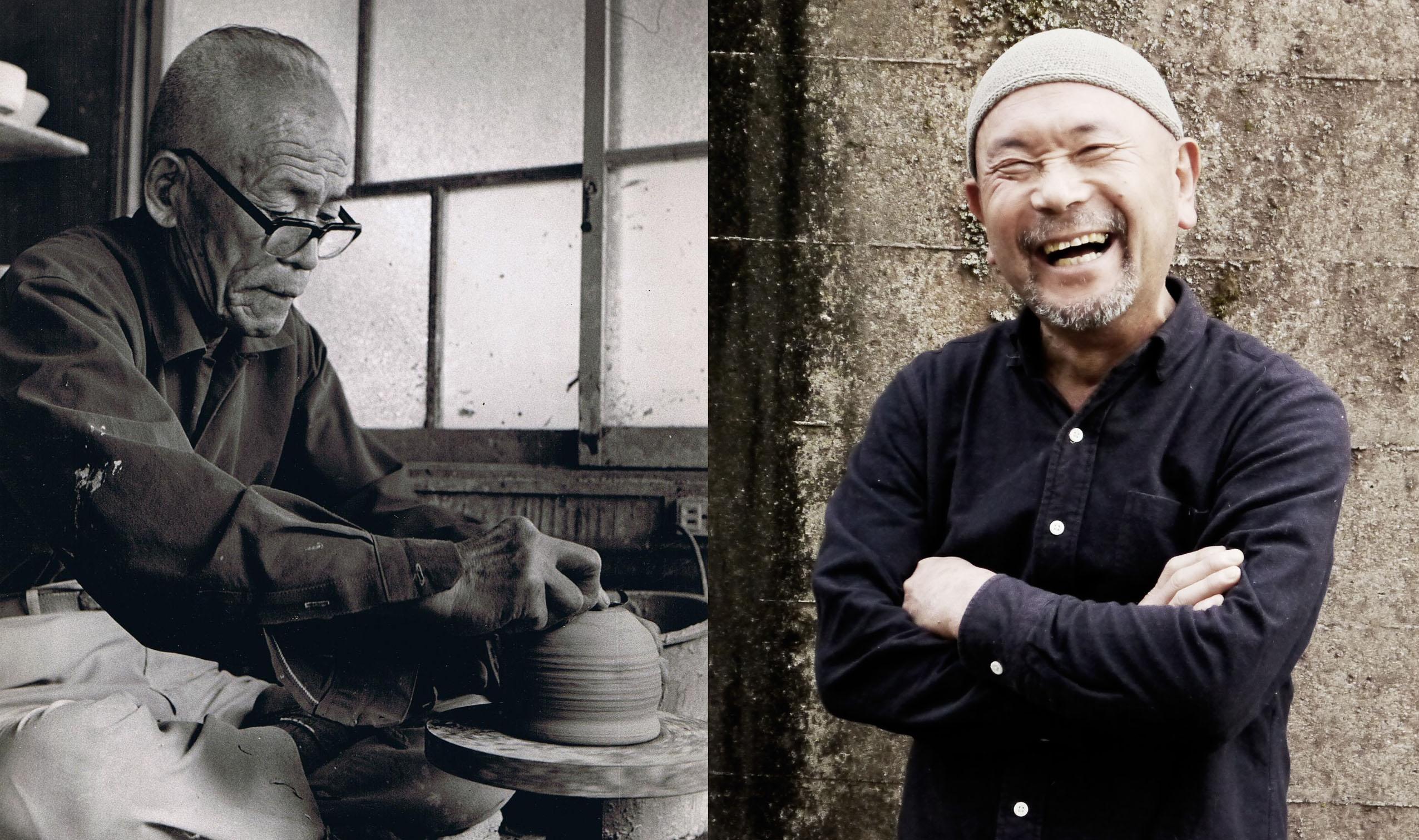 Keramik-Künstler Kato: Die 10. und 12. Generation - Großvarter und Enkel